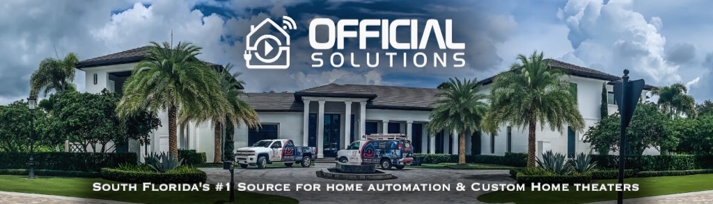 South Florida's #1 Source for Home Automation & Custom Home Theater